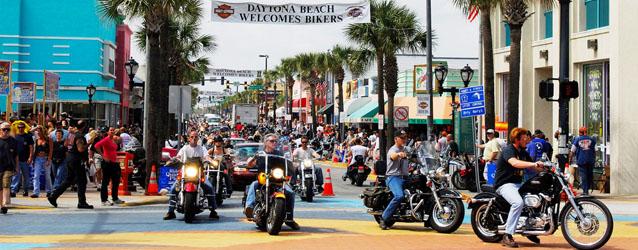 Hundreds Of Bikers Are Already Rolling Into Daytona Beach For Biketoberfest